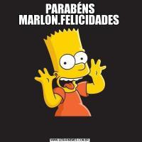 PARABÉNS MARLON.FELICIDADES