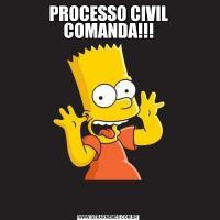 PROCESSO CIVIL COMANDA!!!