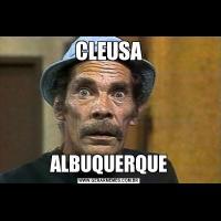 CLEUSAALBUQUERQUE