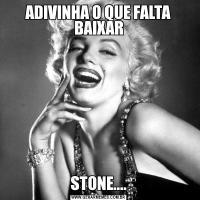 ADIVINHA O QUE FALTA BAIXARSTONE....