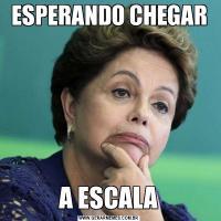 ESPERANDO CHEGARA ESCALA