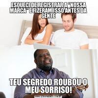 ESQUECI DE REGISTRAR A
