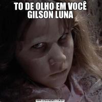 TO DE OLHO EM VOCÊ GILSON LUNA