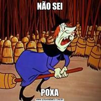 NÃO SEIPOXA